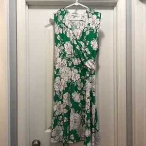 Annalee + Hope Sleeveless Wrap Dress